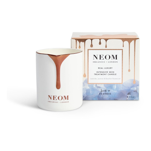 Scent to De-Stress Intensive skin treatment candle, White
