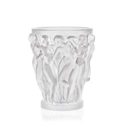 Bacchantes Small vase, H14.6 x D12.3cm, Clear