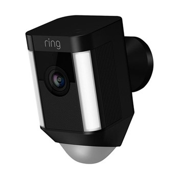 Spotlight camera, 13 x 7 x 8cm, black