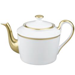 Fontainebleau Teapot, 6 cup, gold