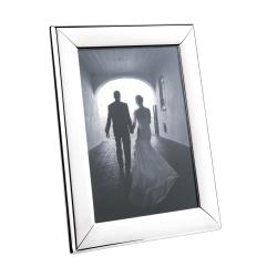 Modern Photograph frame, 10 x 15cm, Stainless Steel