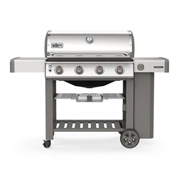 Genesis II S-410 GBS Gas grill, H120 x W165 x D77cm, stainless steel