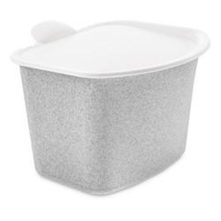 Bibo Food waste bin, H16 x W20.8 x L22.5cm, organic grey