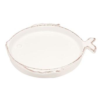 Marina Set of 6 canape plates, D16cm, white