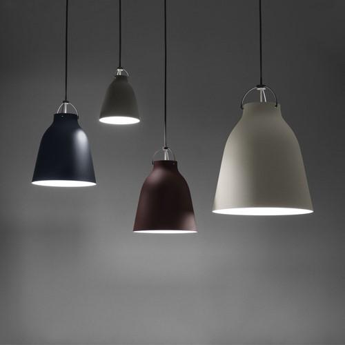 Caravaggio-P1 Pendant lamp, H20.5 x Dia16.5cm, Matt Grey45