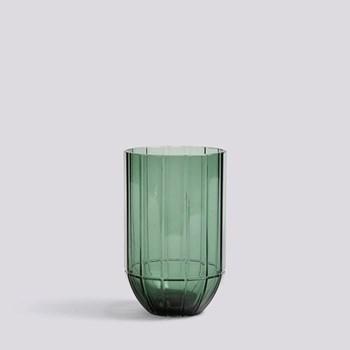 Medium glass vase H15 x W9.5cm