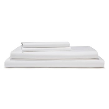 Classic - 400 Thread Count Double duvet cover, W200 x L200cm, white