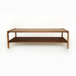Agnes by Kay + Stemmer Coffee table, W120 x D60 x H35cm, Walnut