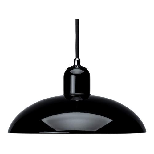 Kaiser Idell-6631 P Pendant lamp, H13.5 x Dia28.5cm, Black