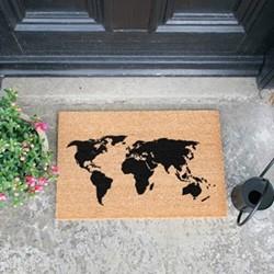 Map Doormat , L60 x W40 x H1.5cm