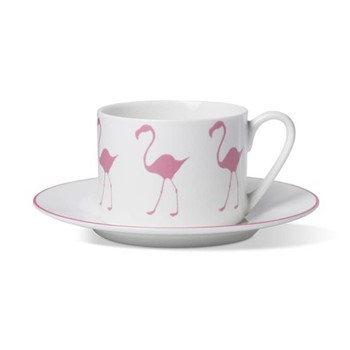 Coffee cup and saucer H6 x D8.5cm cup - 16cm saucer