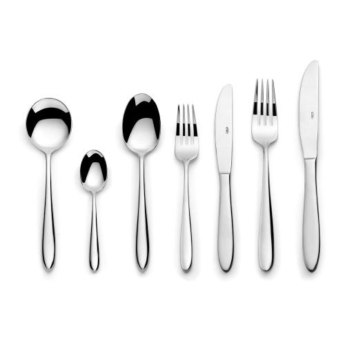 Aspira 7 piece cutlery set, Mirror Finish Polished
