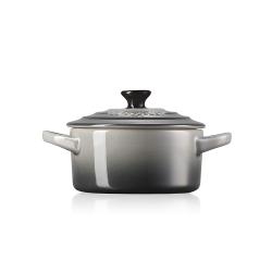 Stoneware Petite round casserole, 9 cm - 250ml, Flint
