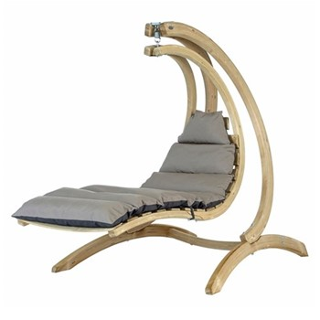 Swing lounger, 23-80 x 240cm, anthracite
