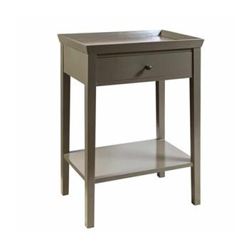 Porto Side table, W60 x D41 x H77cm, clay