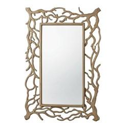 Fangorn Mirror, L91 x H137cm, natural wood