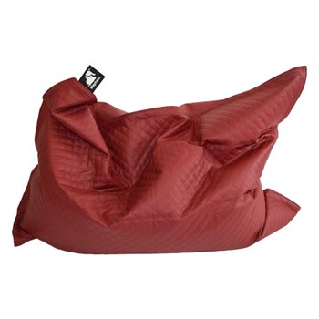 Jumbo - Quilted Beanbag, 175 x 135cm, vibrant red