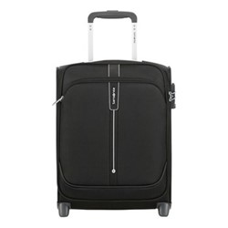 Popsoda Upright underseater suitcase, 45 x 35 x 18cm, black