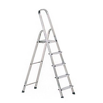 Platform steps 6 rungs, steel