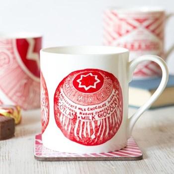 Tunnocks Teacake Mug, 8.5 x 9cm