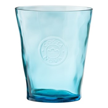 Cor Set of 6 water glasses, 38cl, blue