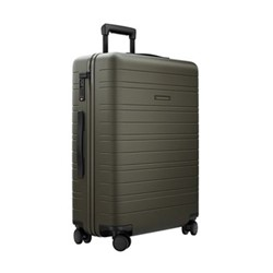 H6 Medium check-In trolley suitcase, W46 x H64 x D24cm, dark olive