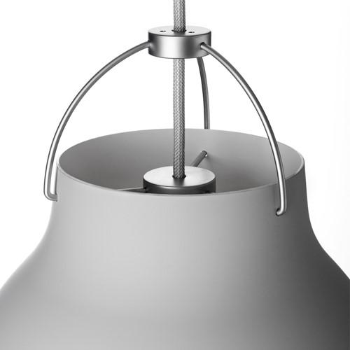 Caravaggio-P3 Pendant lamp, H51 x Dia40cm, Matt Grey25