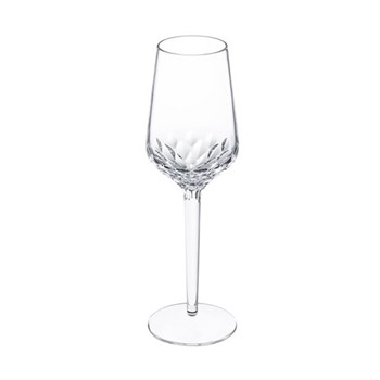 Folia Champagne flute, H22.3 x D6.8cm, clear crystal