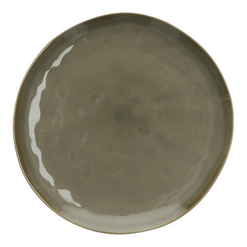 Concerto Set of 4 salad plates, Dia20cm, Grey