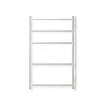 Wall Bar Towel rail, H10.70 x W65.5 x D9.5cm, oyster white