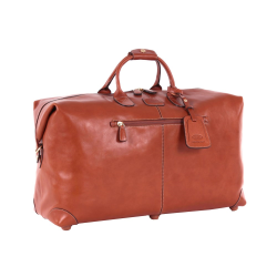 Life Pelle Holdall bag, W55 x H32 x D20cm, Tan