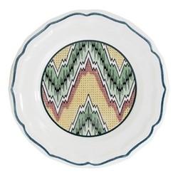 Dominoté Set of 4 assorted canape plates, 16.5cm