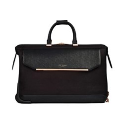 Albany Large trolley duffle suitcase, L36 x W56 x D31cm, black