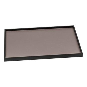 Phorma Rectangular tray, 32 x 48cm, mud