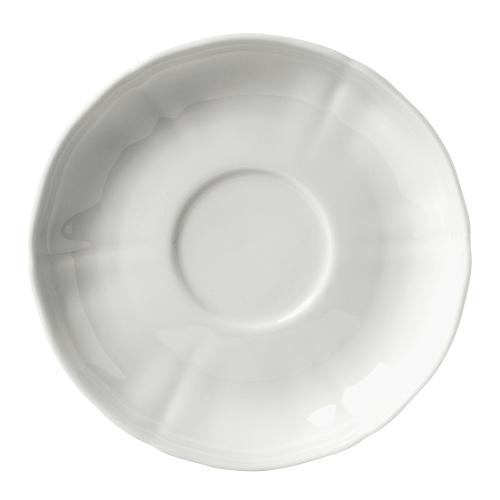 Antico Doccia Tea saucer, 15cm, white