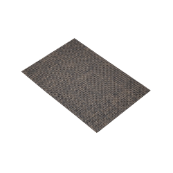 Metallics Woven placemat, 45 x 30cm, metallic bronze