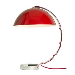 London Table light, H45 x W37cm, red