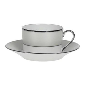 Clair de Lune Uni Teacup and saucer