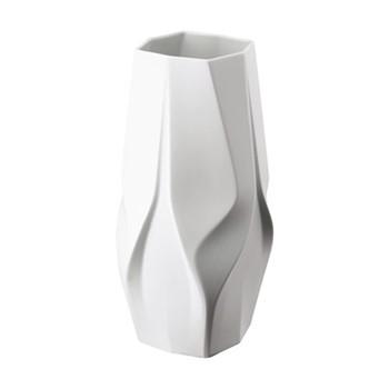 Weave by Zaha Hadid Vase, H35cm, white