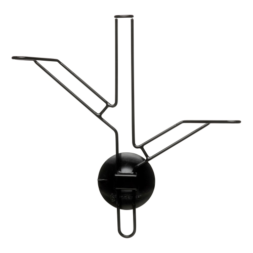 Bird feeder kit, Dia8 x 22cm, Glass/Black Silicone