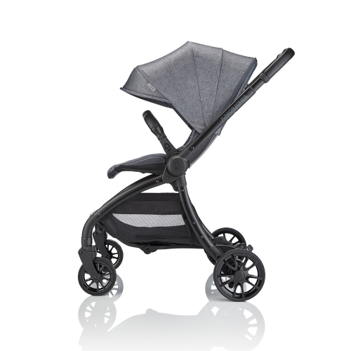 J-spirit Stroller, Frost grey, H108 x W54 x L72cm, Grey