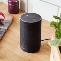 Echo Smart speaker, charcoal