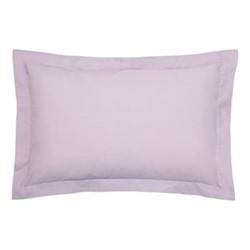200TC Plain Dye Oxford pillowcase, L74 x H48cm, thistle