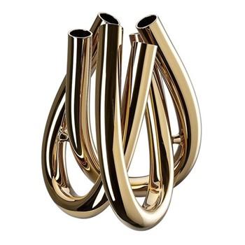 Triu Vase, 22cm, gold