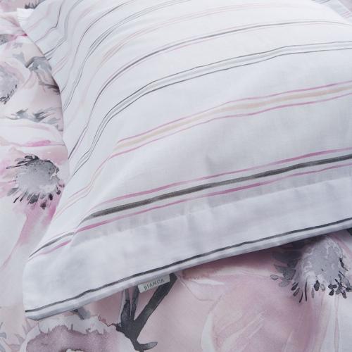 Arctic Poppy Oxford pillowcase, Blush