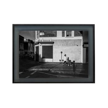 Golborne Road by Dave Watts Framed photographic print, 42 x 28cm, black