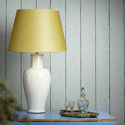 Lolita Medium table lamp - base only, H44 x W18cm, stone