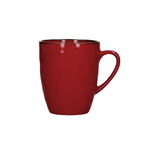Concerto Set of 4 mugs, 430ml, Fire Red