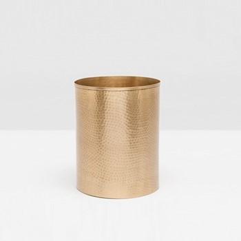 Verum Wastebasket, H28 x D23cm, antique brass