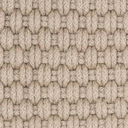 Rope Polypropylene indoor/outdoor rug, W45 x L61cm, platinum